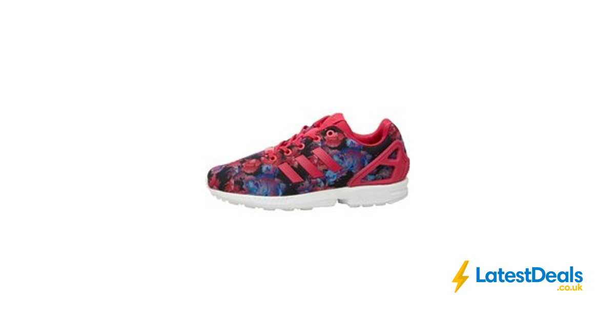 finest selection e8457 9a27a Adidas Originals ZX Flux Trainers Bold Pink/Bold Pink/White ...