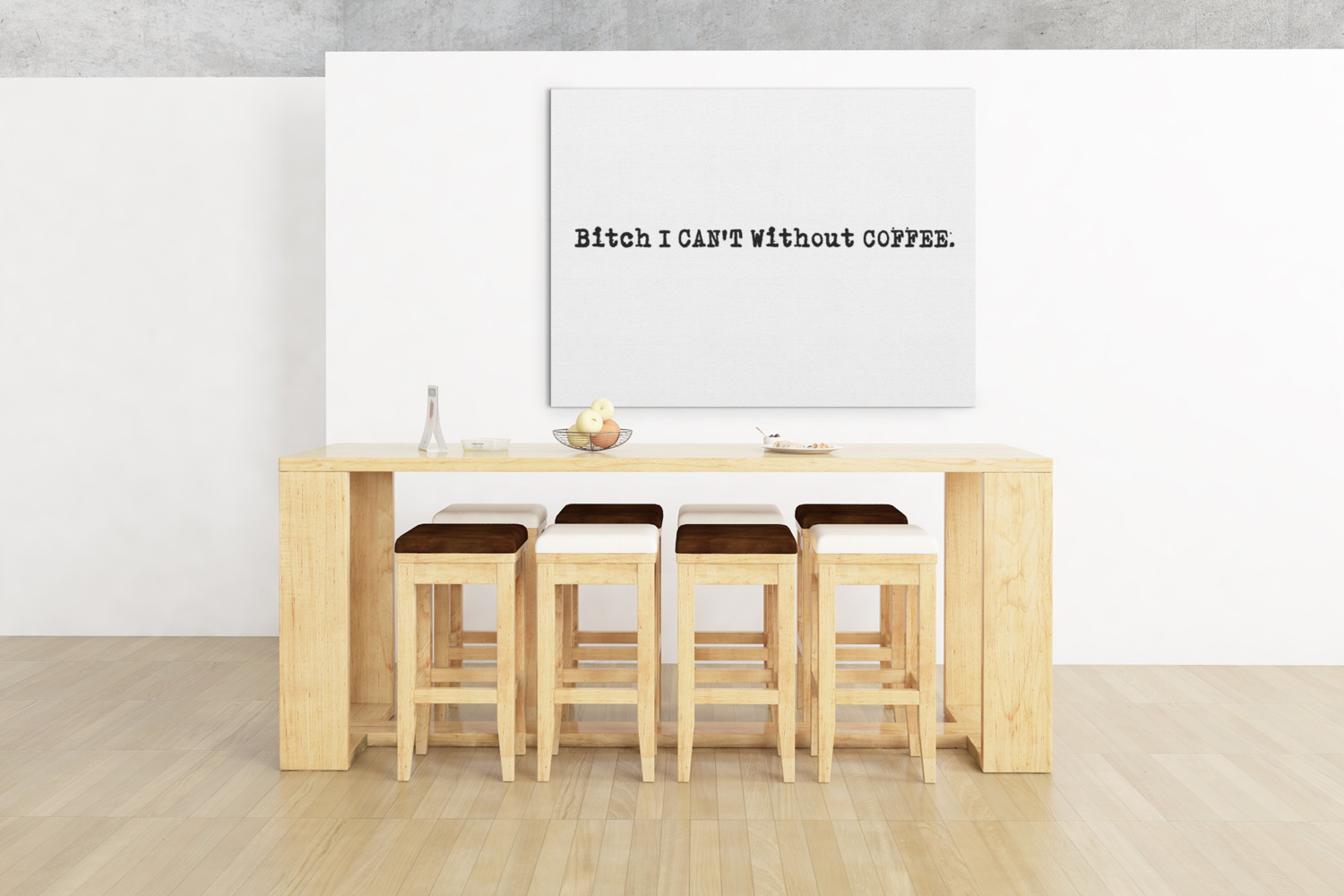 I Can T Without Coffee Pg 13 Logo Canvas Canvas Aesthetic Pictures Picture Wall