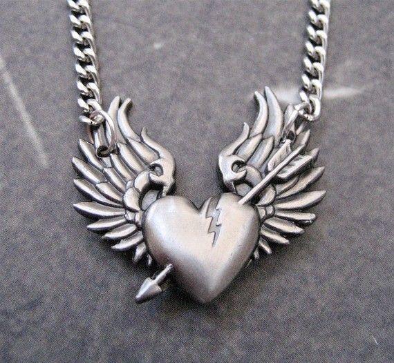 Tortured Heart Necklace