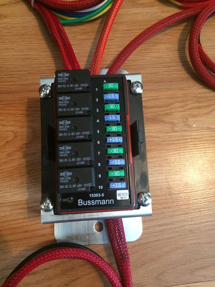 Universal Waterproof Fuse Box Relay Panel distribution Cooper Bussmann Off  Road | Business & Industrial, Automation, Motor… | Fuse box, Motorcycle  wiring, Car fusesPinterest