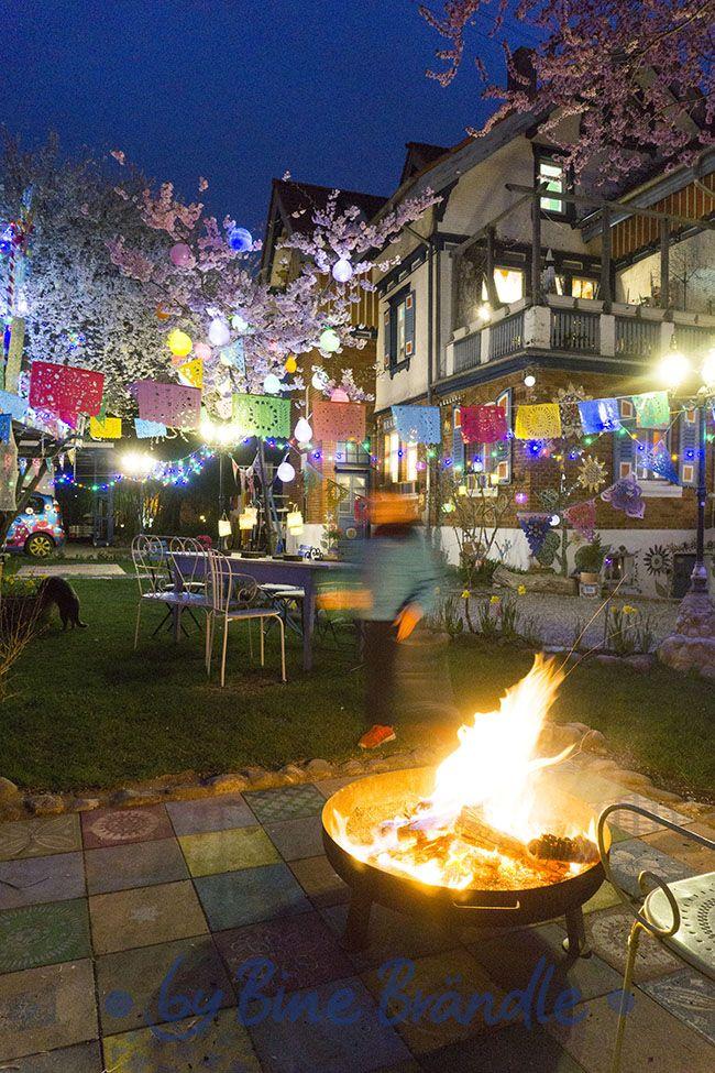 Tolle Party Dekoration Im Garten Von Bine Brändle Für Ein Buntes Frühlings   Oder Sommerfest