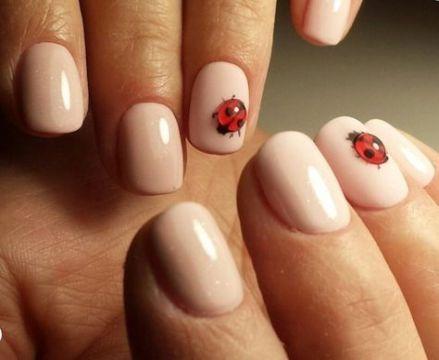 31 best ideas nails art spring lady bug nails  ladybug
