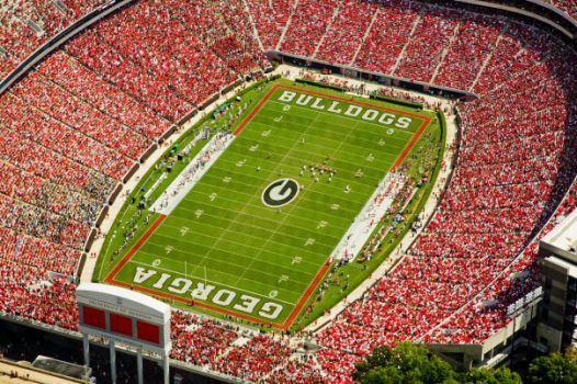Football Sanford Stadium University Of Georgia Visit Georgia