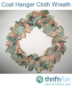 Photo of Fabric Wreath Craft Projects