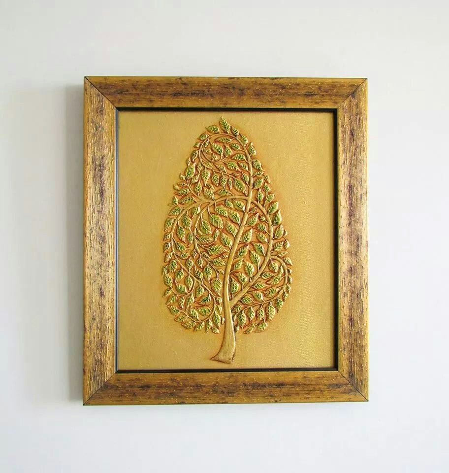 tree of life.. marble dust handmade wall art.. buy now on aamori.in ...