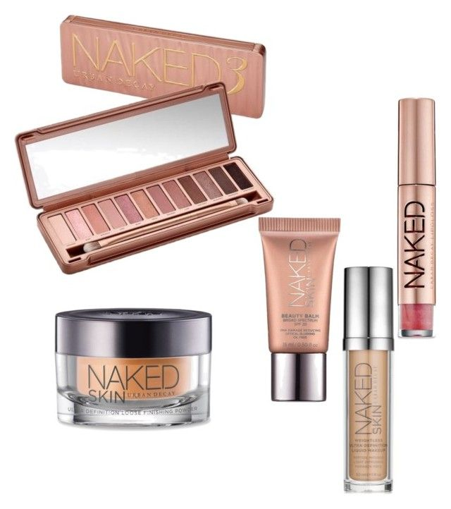 """""""naked makeup"""" by jaydenjohnson404 on Polyvore featuring Urban Decay"""