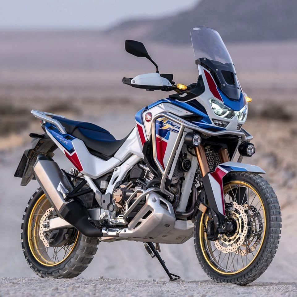 The 2020 Honda Africa Twin Is Here What Do You Think It Is Lighter A New Dash And A Six Axis Imu To Cont Honda Africa Twin Adventure Bike Touring Motorcycles