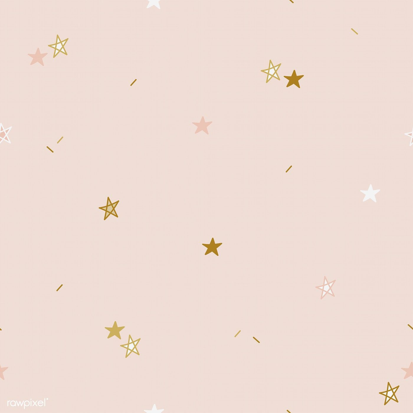 Download Premium Vector Of Brown And Yellow Stars Pattern Background Background Patterns Artsy Background Vector Background Pattern