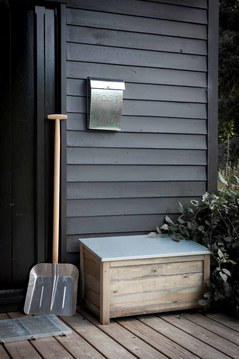 Keep Your Porch Organized This Winter With A Storage Box For. Outdoor  Storage BoxesWooden ...