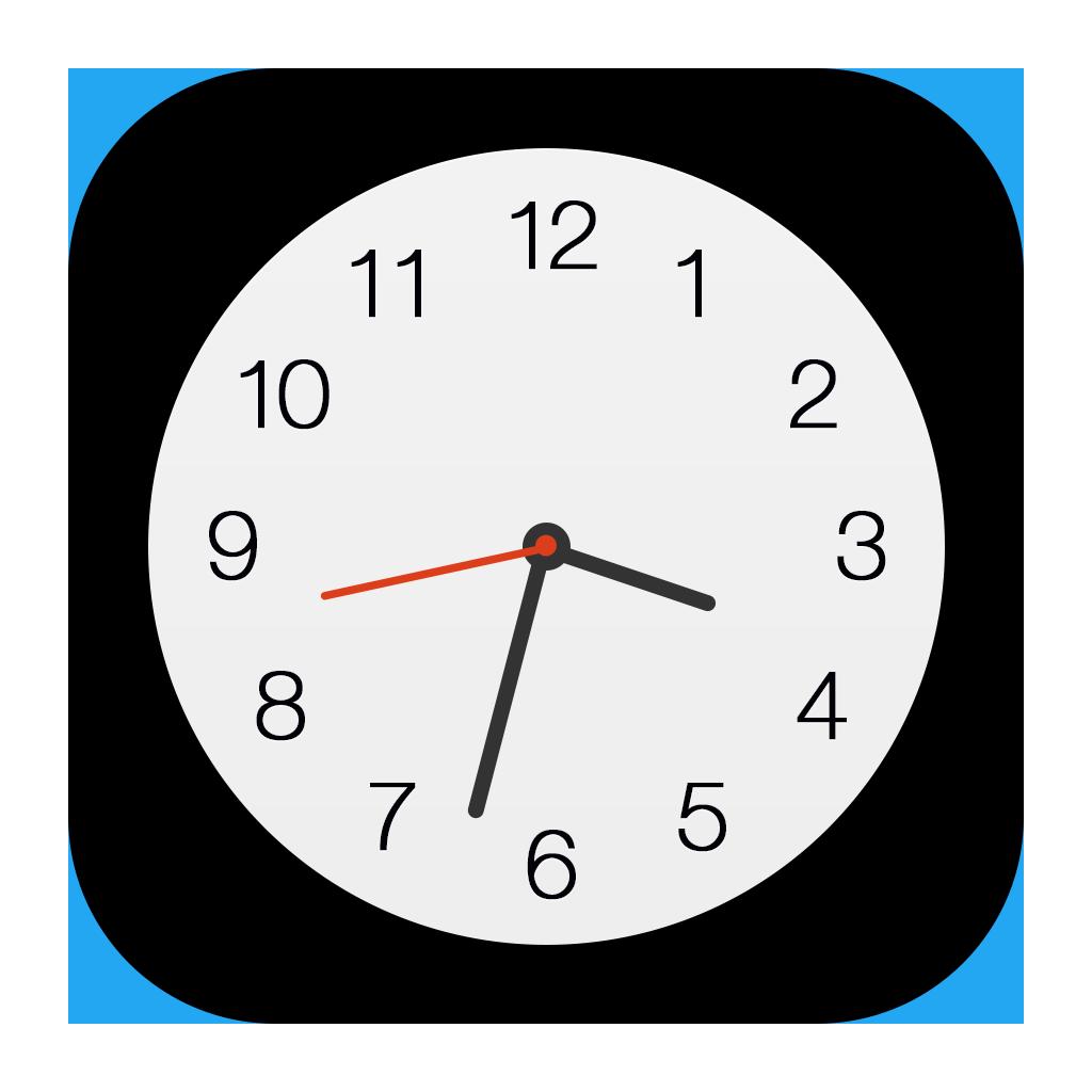 Clock Icon Png Image Clock Icon Clock App Logo