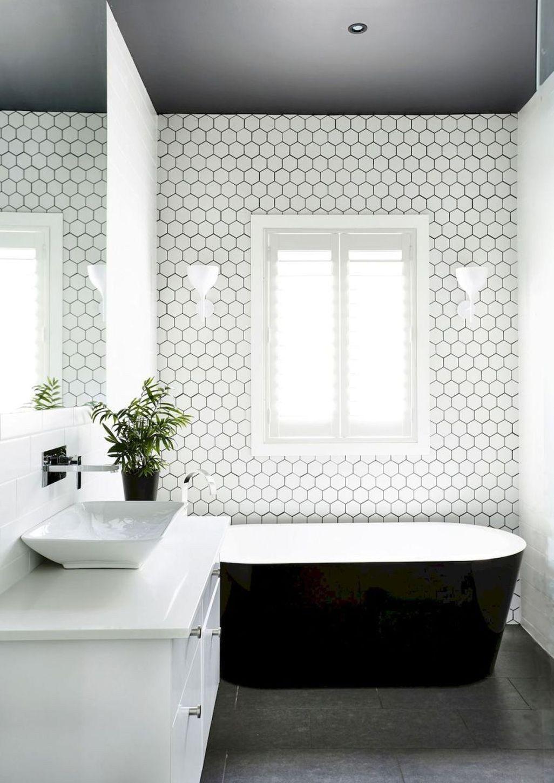 Cheap Black White Bathroom Design Ideas 04 - 50homedesign.com ...