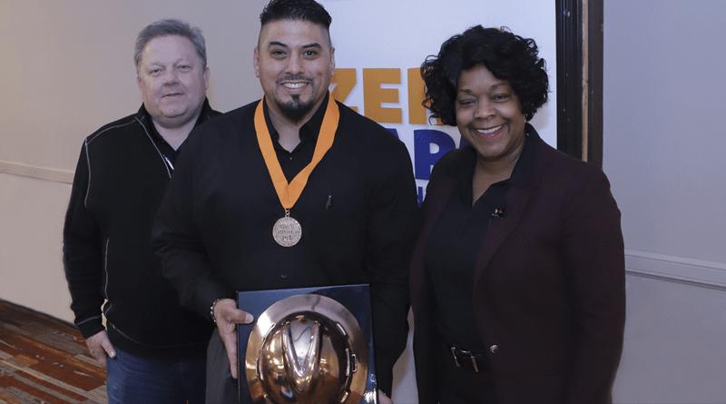 Employee Receives Prestigious Company Safety Award