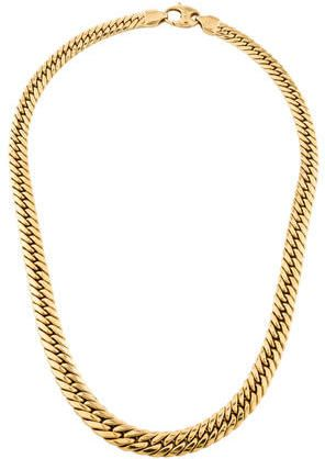 18k Flat Link Chain Necklace Gold Chains For Men Mens Gold Jewelry Mens Chain Necklace