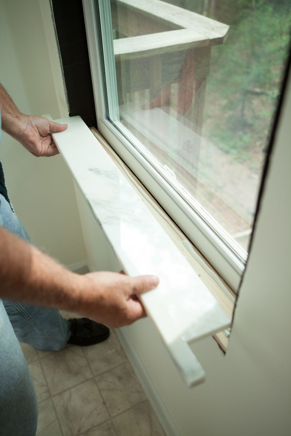 Exceptionnel Window Sill 6 Install 7844 Bathroom Window Sill Ideas, Marble Window Sill, Window  Sill