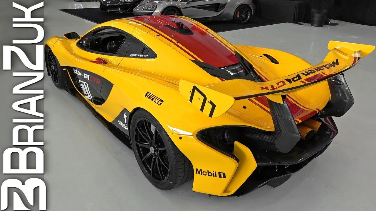 Mclaren p1 gtr extreme track weapon unveiled pictures - Mclaren P1 Gtr Spotted In The Wilderness Of London The Mclaren P1 Gtr Is An Amazing And Strictly Race Track Supercar That Is Powered By A 3 8 Lite