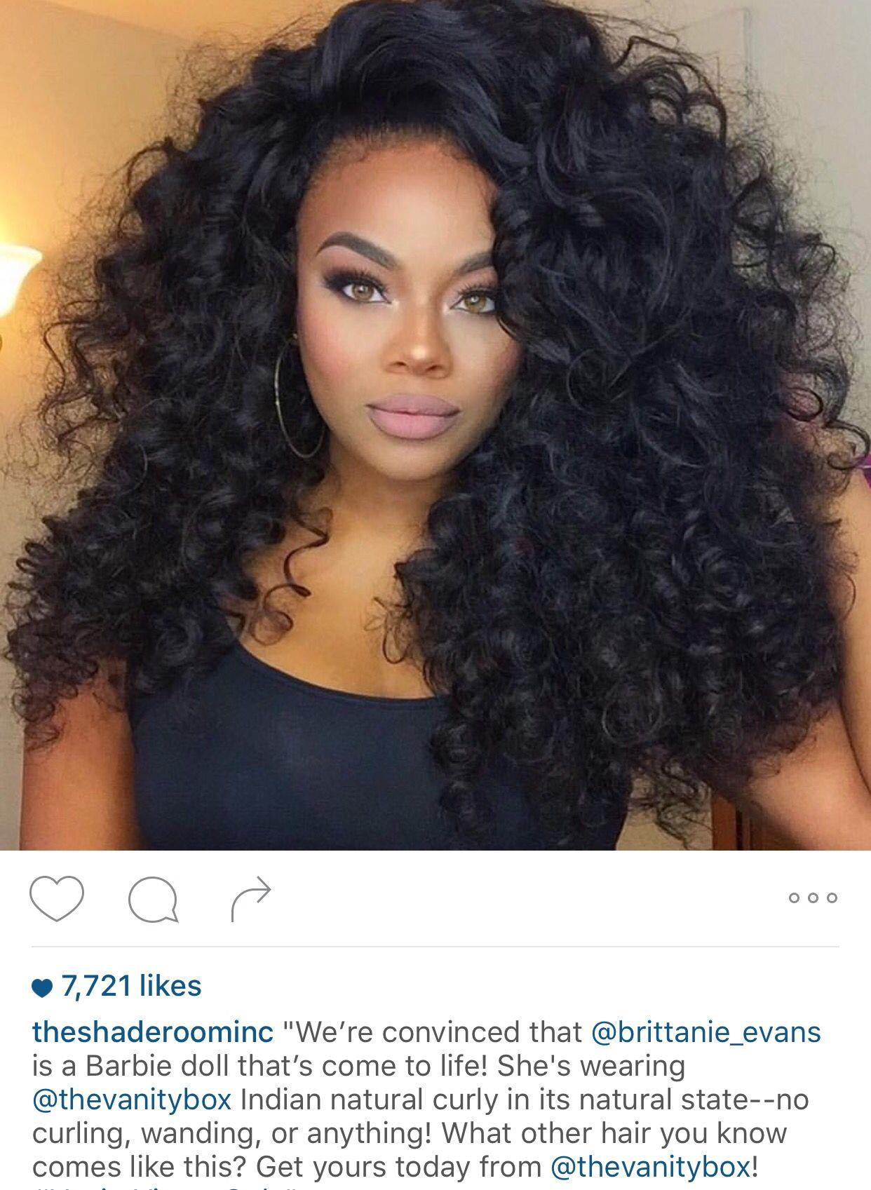 vanity box curls | hair | pinterest