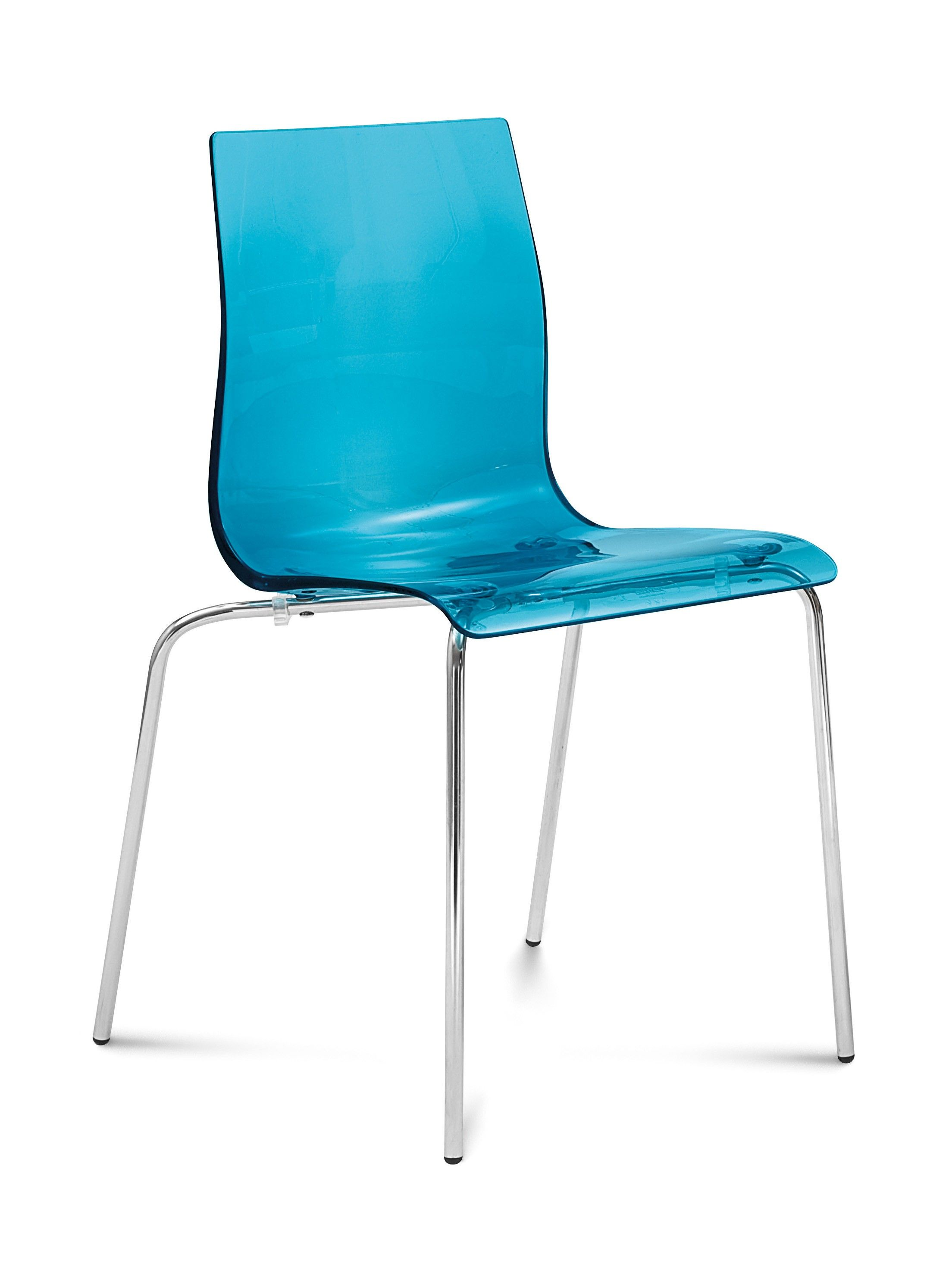 Gelb accent chair set of two by domitalia blue
