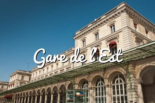 Gare Est#paris #viajar #turismo #travel