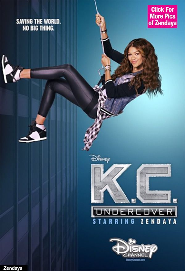 Zendaya: First Poster Of Disney's 'K.C. Undercover' Series — Pic