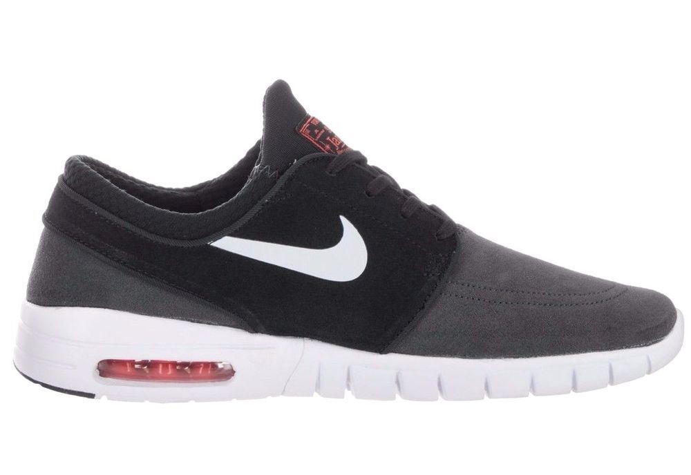 san francisco 2f5a5 46d30 Nike SB Stefan Janoski Max L Mens Shoes 9 Anthracite Black 685299 008  Nike   Skateboarding