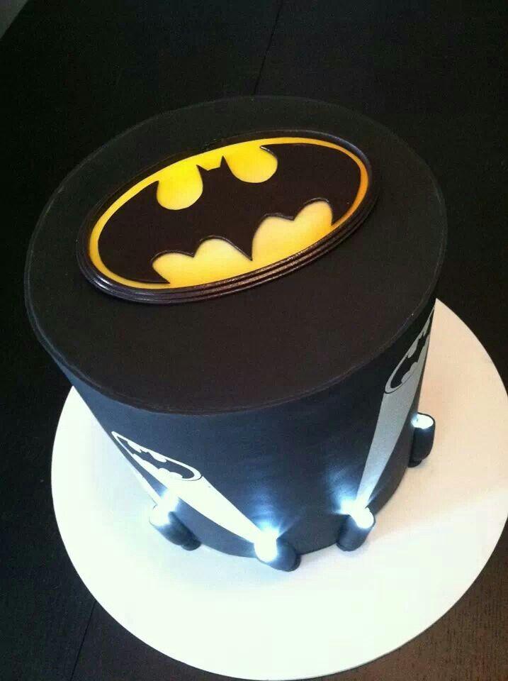 Batman Cake With Lights Cool Batman Cakes Cupcake