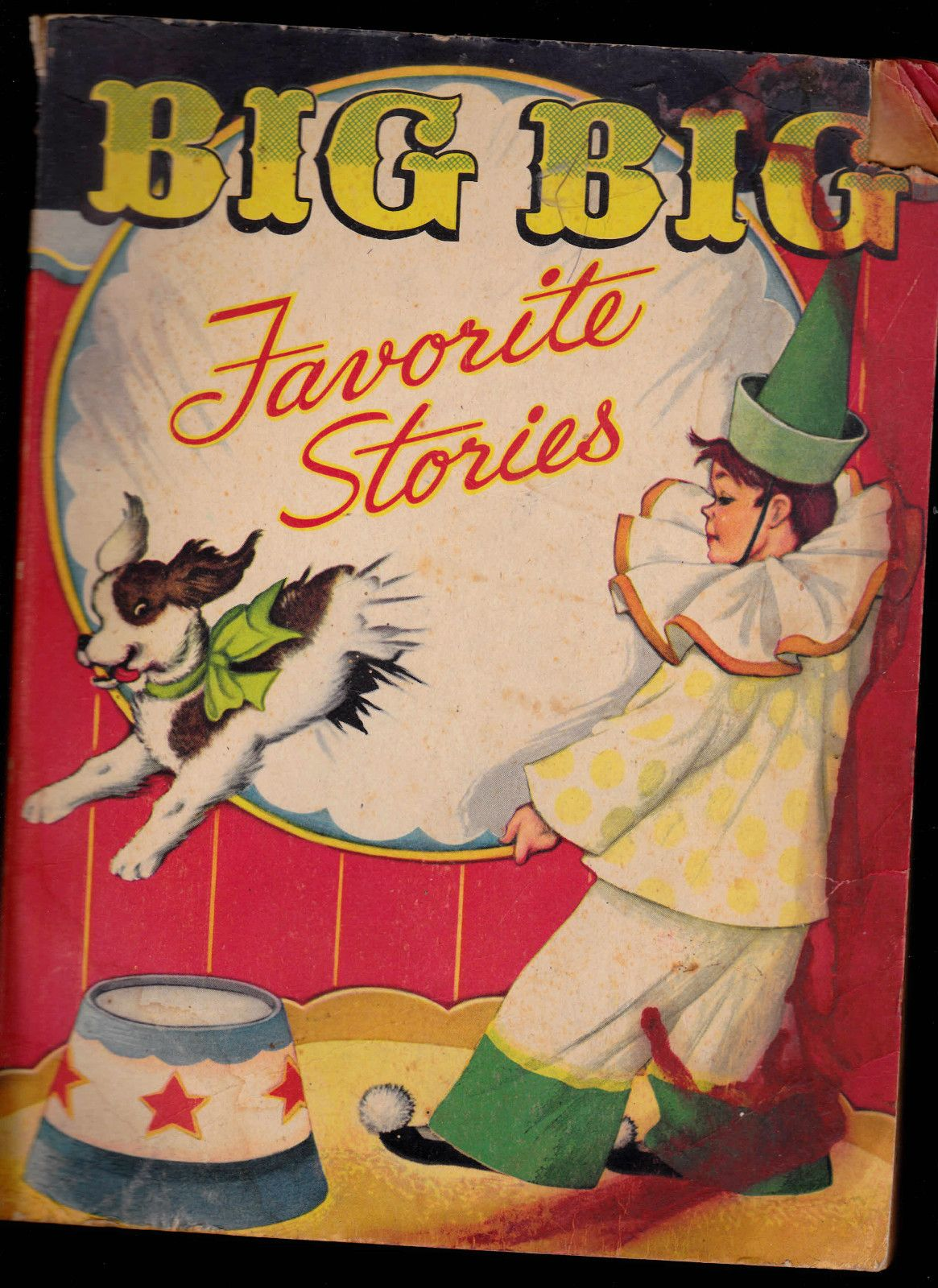 Big Big Favorite Stories 1946 Whitman Henry E Vallely In Books,  Antiquarian & Collectible