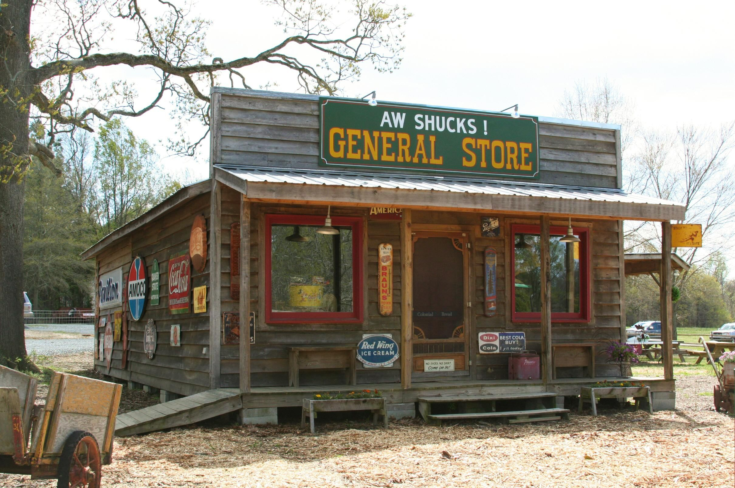 General Store Aw Shucks Aw Shucks Old General Stores Old