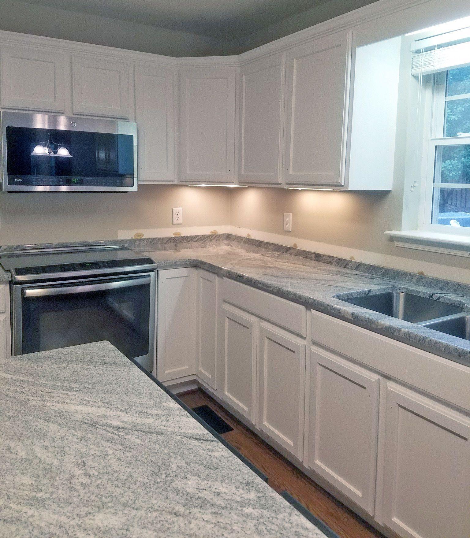 Snow White Kitchen Cabinet transformation   Painting kitchen ...