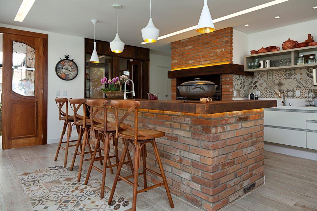 Homify Balcones Y Terrazasaccesorios Y Decoracion Homify Cocina Con Paredes De Ladrillo Diseno De Cocina Rustica Diseno Muebles De Cocina
