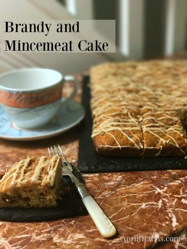 Brandy and Mincemeat Cake, an easy, light, warmly spiced fruitcake alternative