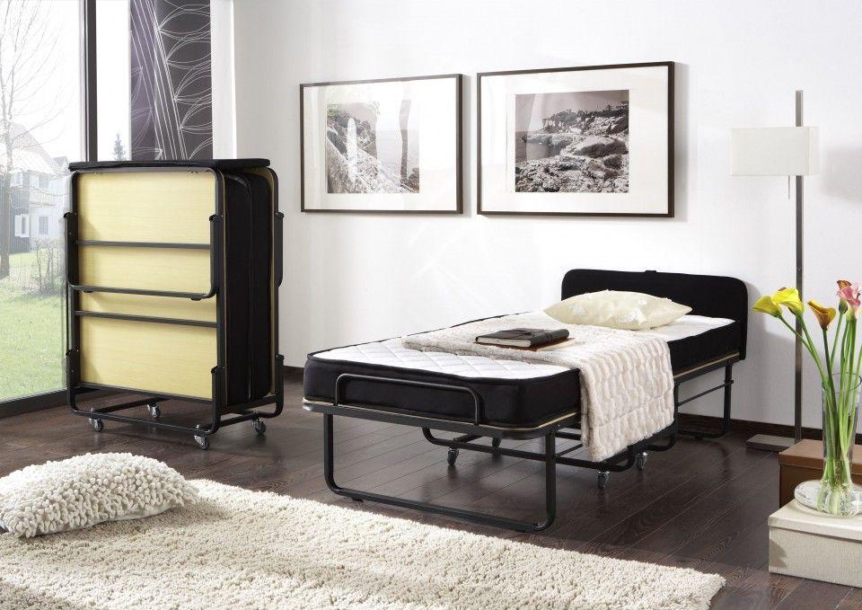 Ruimtebesparend bed vouwbed comfort met bonell vering matras