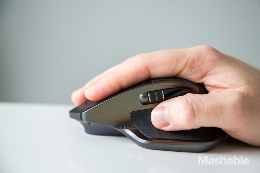You'll hate your basic wireless mouse after using the Logitech MX Master - review : mashable - 4/13/15