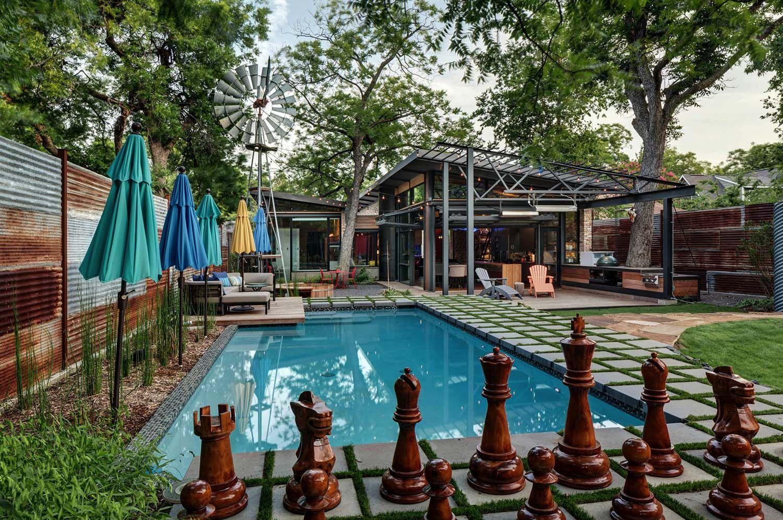 Exceptional Modern Industrial Texan Dwelling Casa Bonita Outdoor Renovation Outdoor Outdoor Design