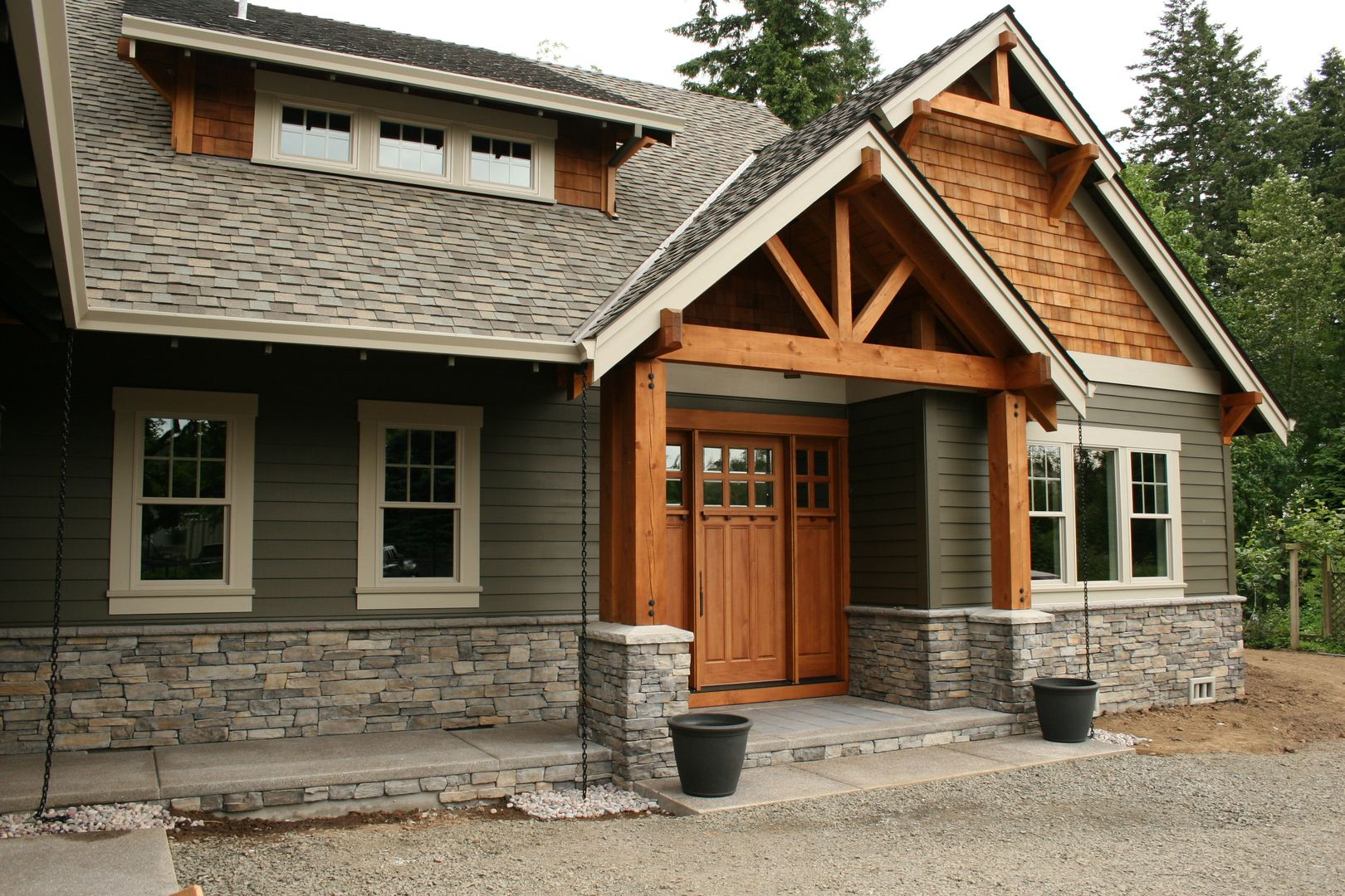 Exterior Wood Shakers Colors House Exterior Build Your Own House House Styles