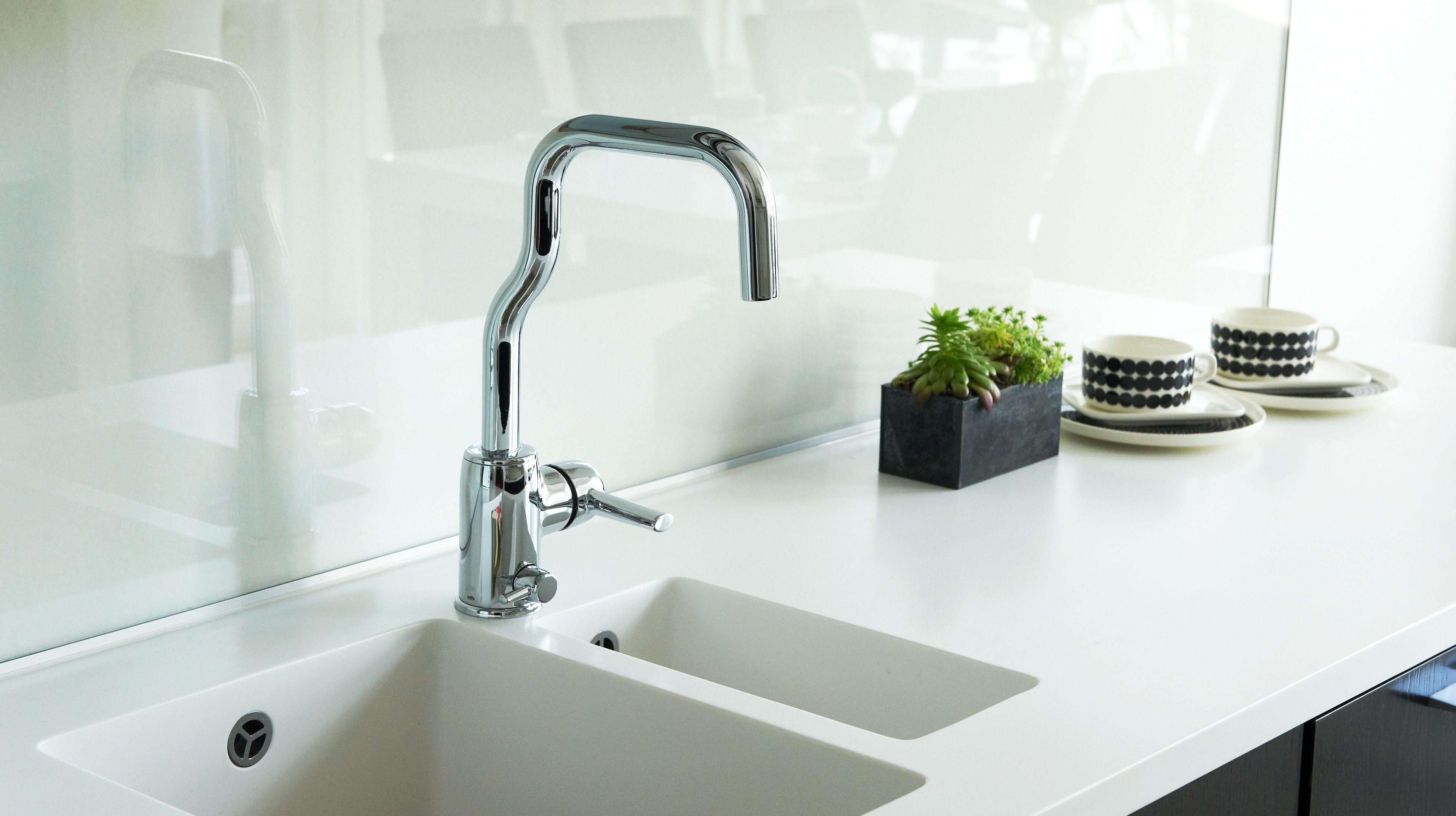 LA CUCINA ALESSI by Oras kitchen faucet 8535 - like a sculpture ...
