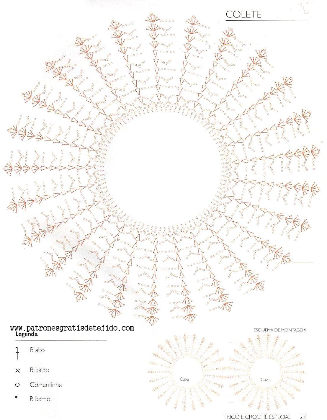 patron-bolero.jpg 1.108×1.423 píxeles | Brema | Pinterest | Dos ...
