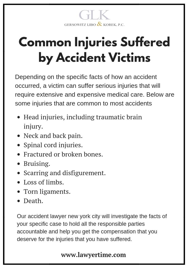 New York City Accident Lawyer Personal Injury Attorney With Images Accident Personal Injury Attorney Injury