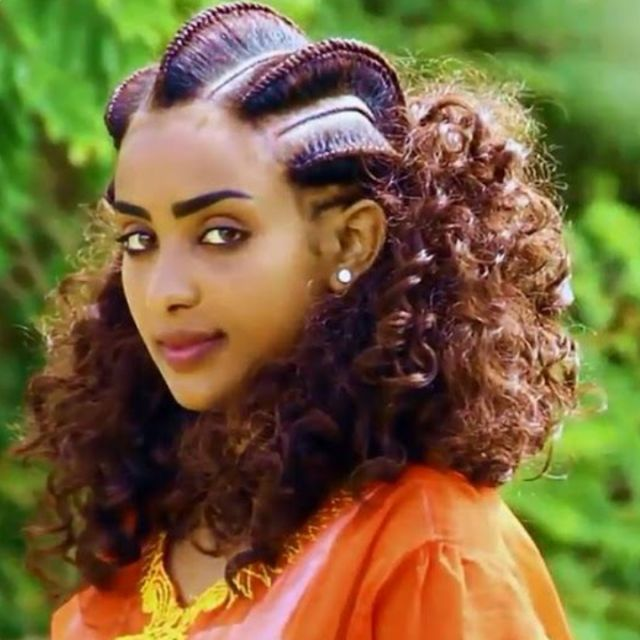 The Beauty Of Ethiopian Braids Ethiopian Hair Hair Styles Ethiopian Braids
