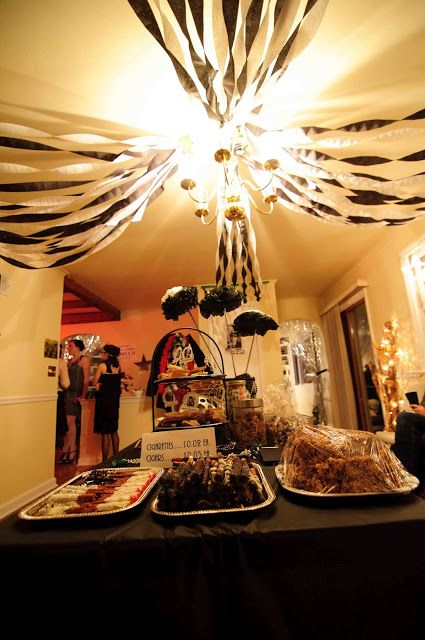 Dining Room Decor Ideas Invite The Unexpected Roaring 20 S Roaring 20s Birthday Party Roaring Twenties Party