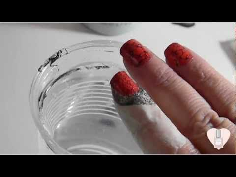 Water Spotted Spider nails
