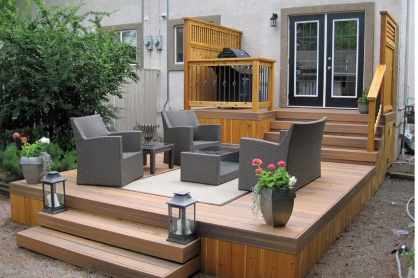 Decks Without Railings Pros All Furniture Pool With Outdoor Ideas Backyards Deck Designs Backyard