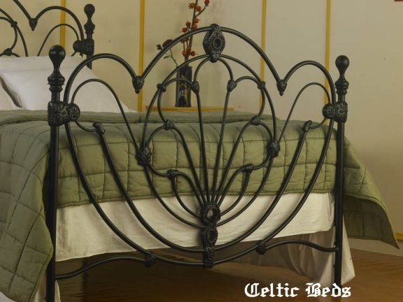 the wrought iron bed company celtic beds clifden - Rod Iron Bed Frame