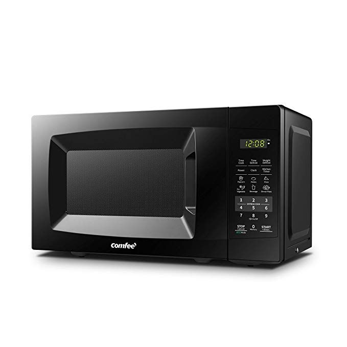 Comfee Em720cpl Pmb Countertop Microwave Oven With Sound On Off