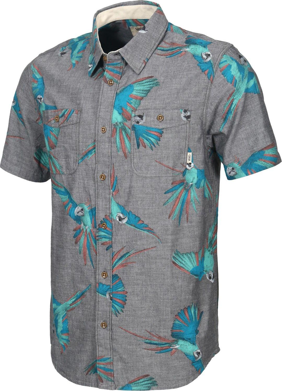 9ebee04bba8 Tactics New Charcoal Bird Shirt