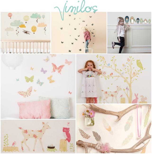 Vinilo original habitaci n infantil via miblog biombos for Habitacion infantil original