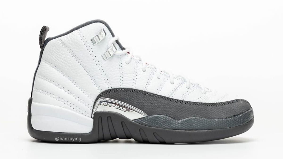 Air Jordan 12 Retro 'White/Dark Grey/Gym Red' 130690-160 Release ...