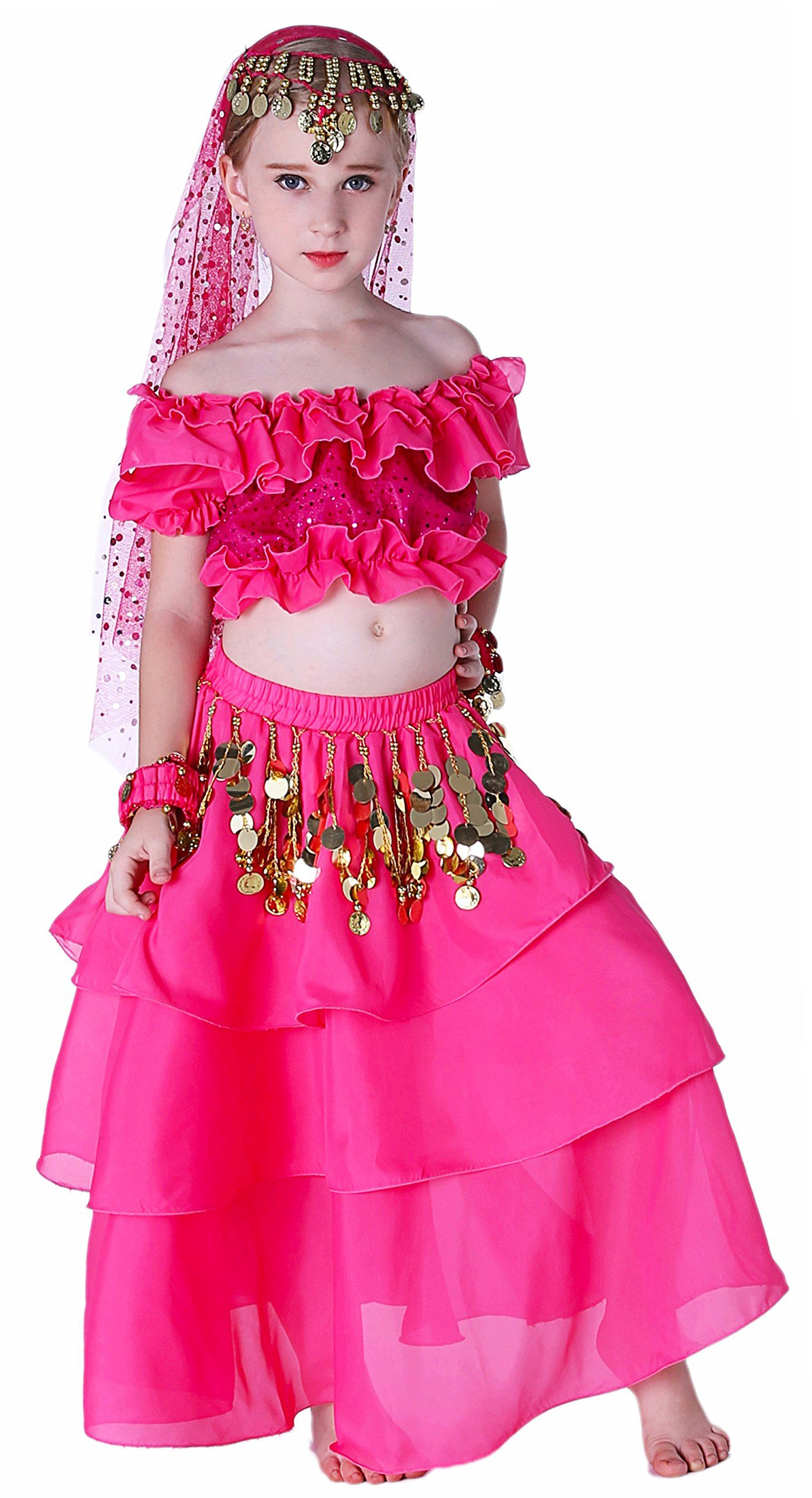 60a66de03293 Belly Dance Costume for Girls 14 16 -- To see further for this ...