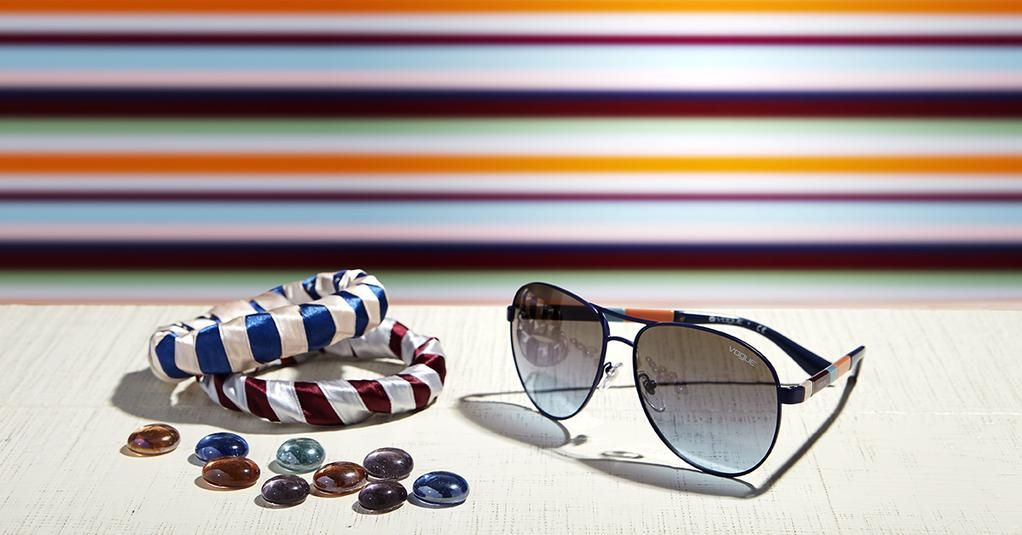 Stripes and Shapes for every look | #Colorbands Featuring VO3977S @ http://vogu.ee/wc6z