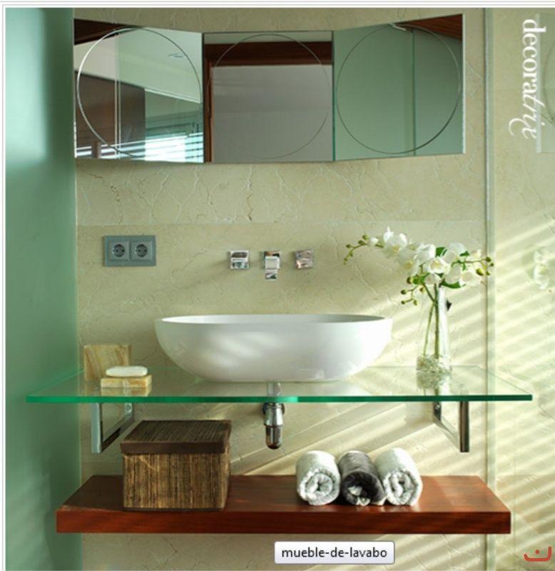 Kit Bancada Banheiro Vidro : Bancada de pia em vidro banheiros pias
