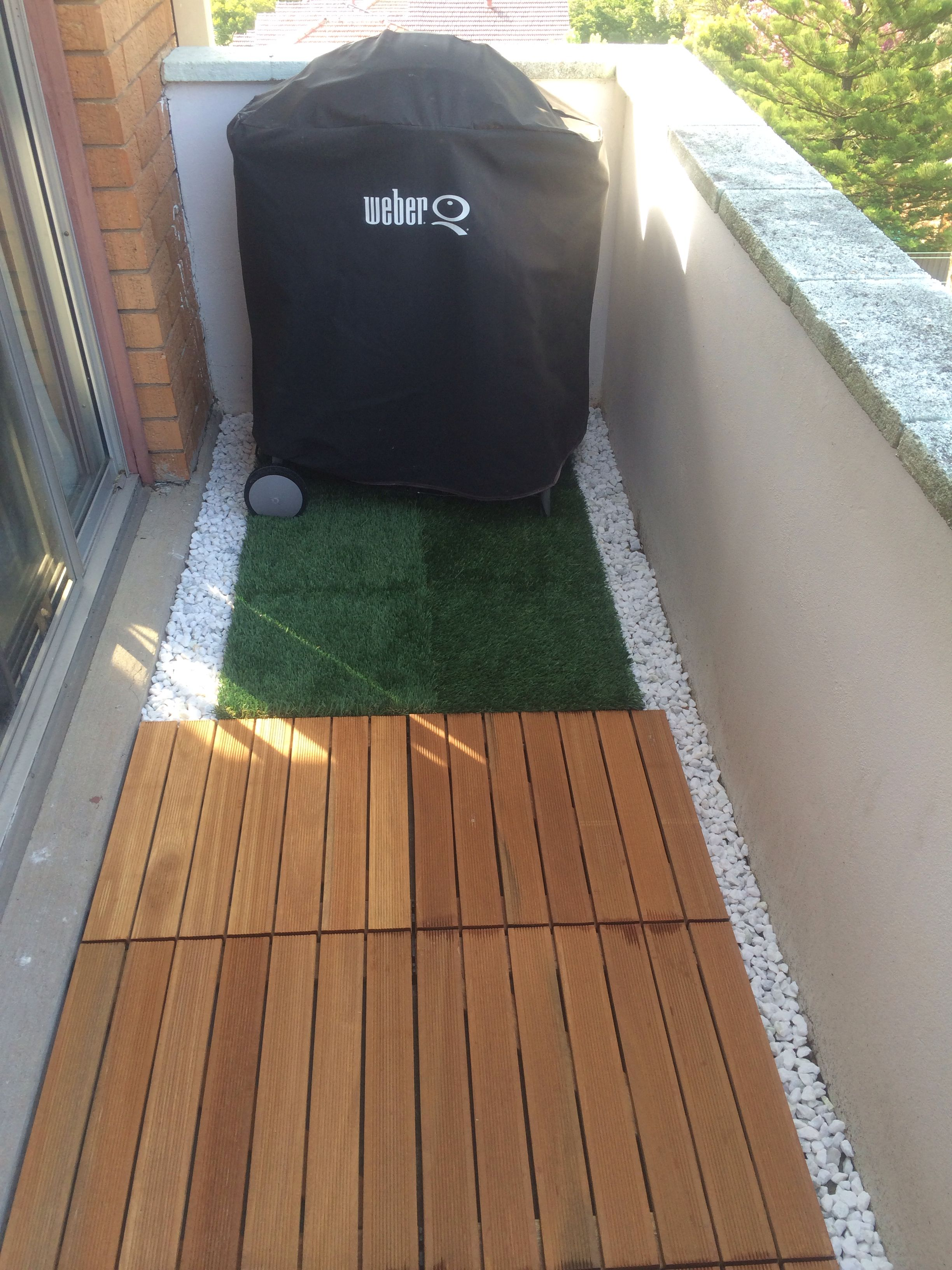 Bunnings Fake Turf Our Balcony Diy Decking And Artificial Turf Thanks
